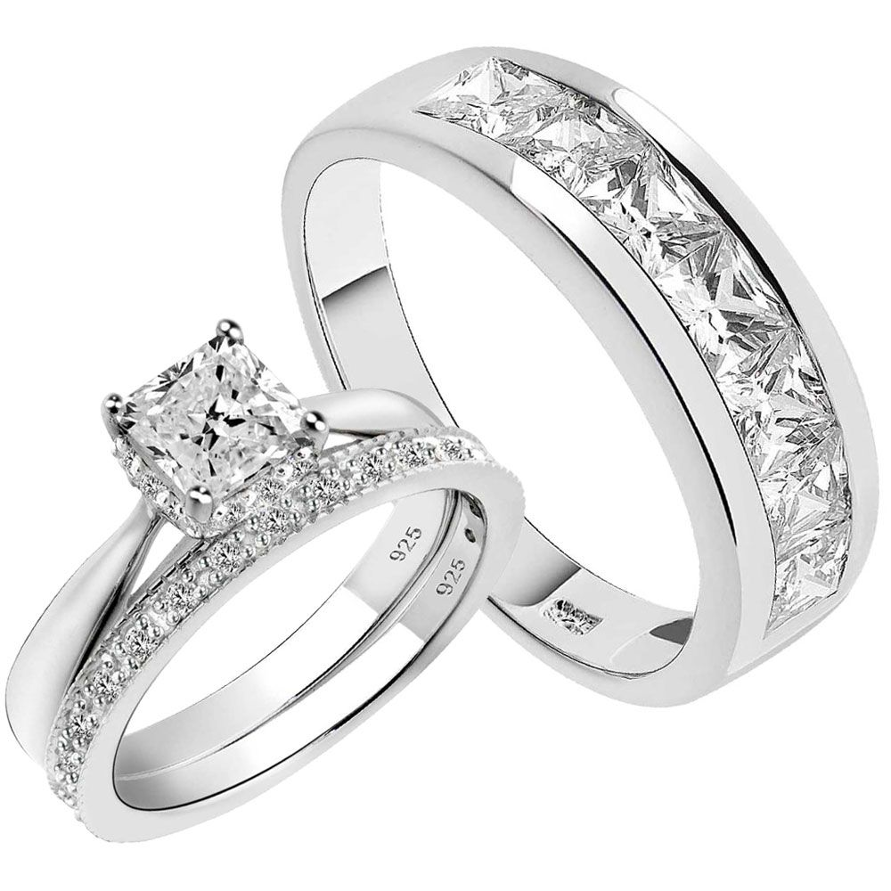Beat wedding rings set from camo On sale near me ideas