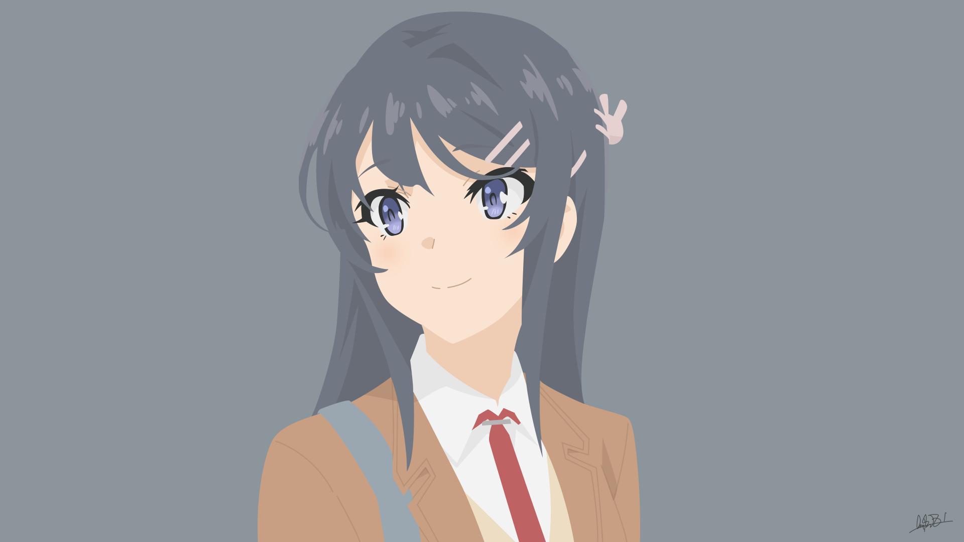 Mai Sakurajima Wallpaper Google Search Anime Art Girl Mai