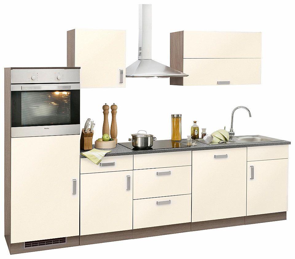 Küchenzeile »Tacoma« mit E-Geräten, Breite 280 cm Jetzt bestellen ...