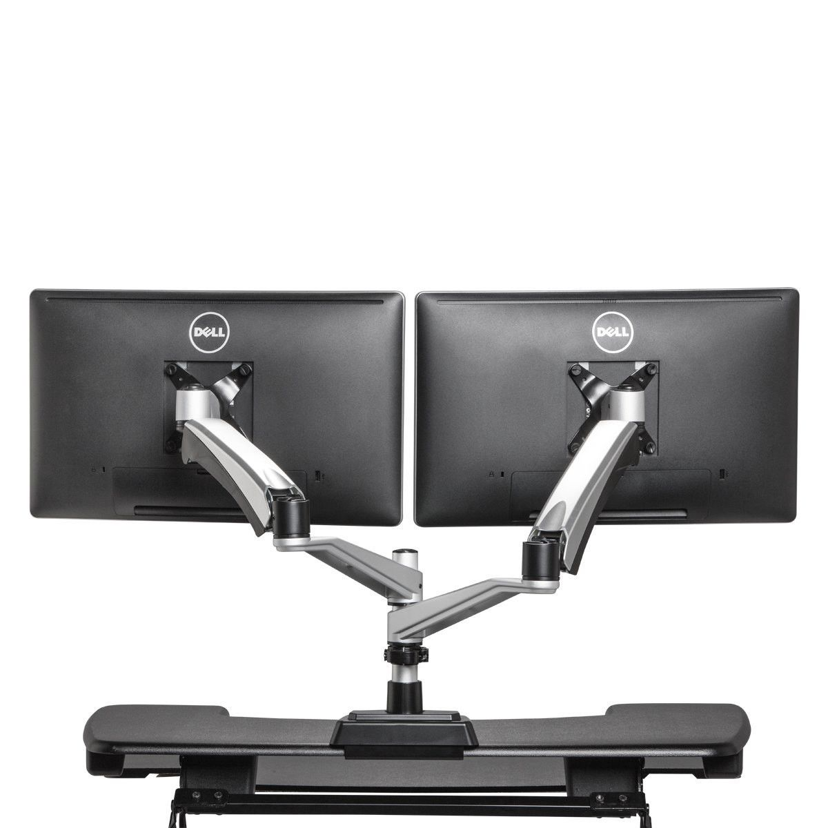 Each Standing Desk Monitor Arm Can Handle Up To 19 8 Lbs