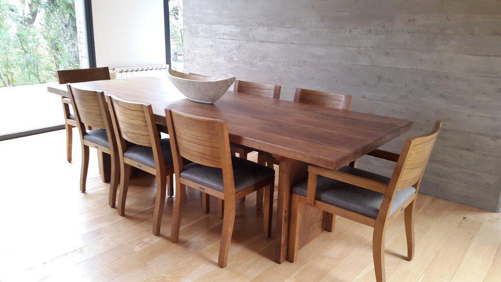 Mesas de comedor buscar con google madera sillas for Diseno de sillas modernas de madera