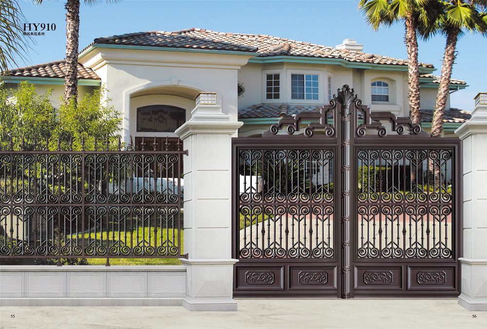 HY 902 Unique Exterior House Gate Designs