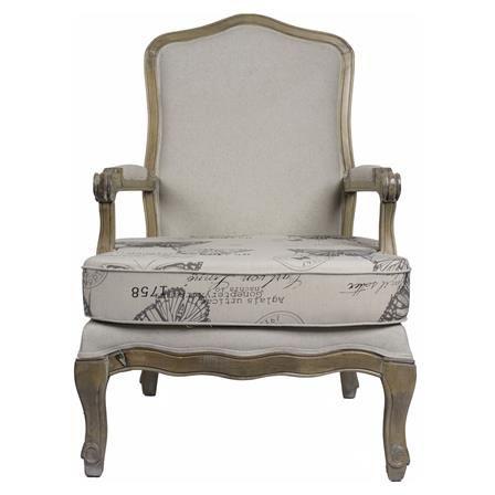 Loire Butterfly Print Chair