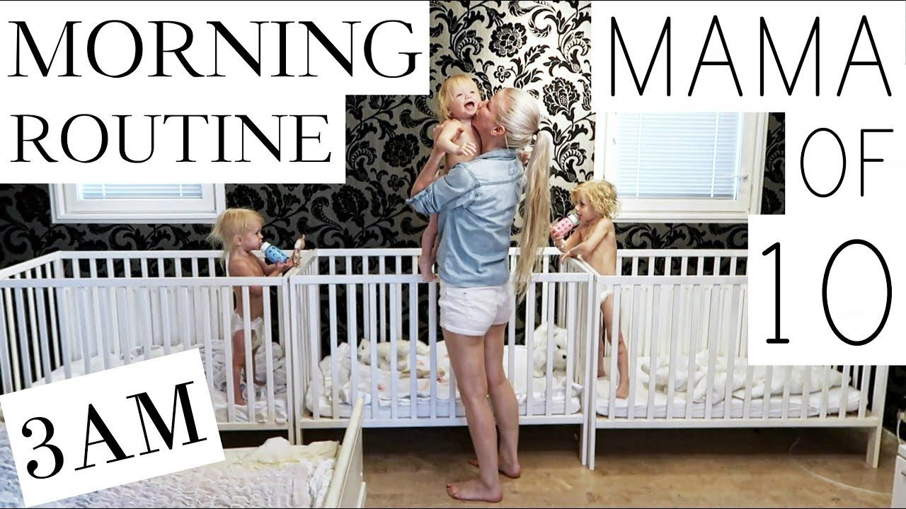 My morning routine with 10 children part 13