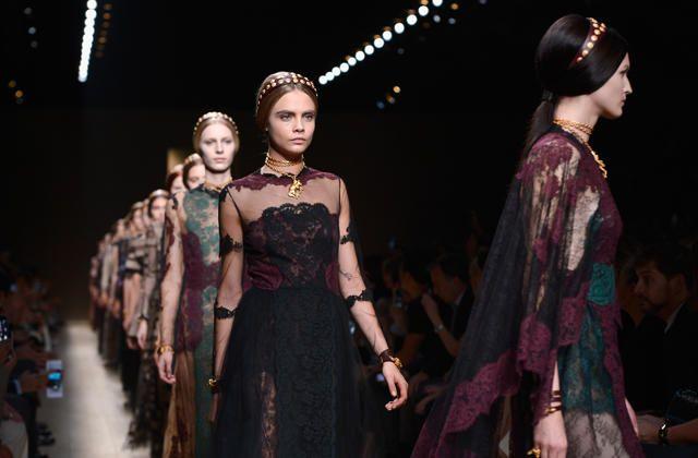 Византийская мечта Валентино - модница