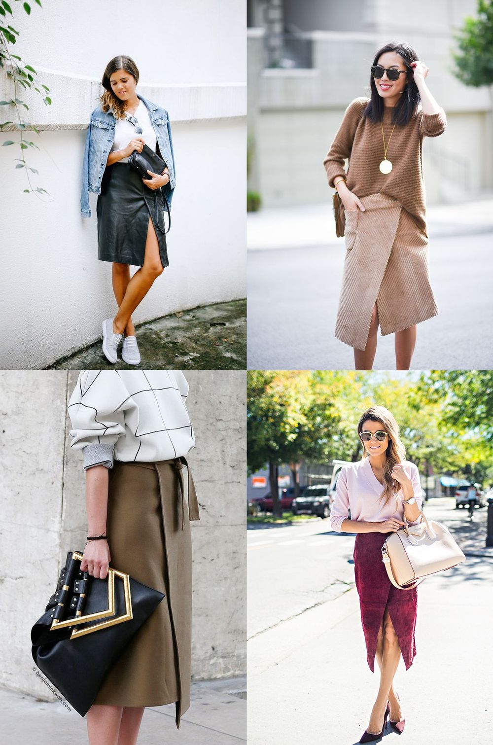 diy split wrap skirt (a pair & a spare) | wraps, fashion weeks and