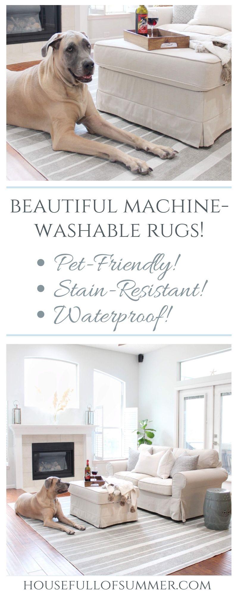 Beautiful Machine Washable Rugs Yep With Images Machine