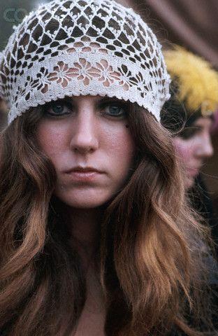 crochet lace hat ♪ ♪ ...  inspiration crochet  diy GB  a32dd31a11d