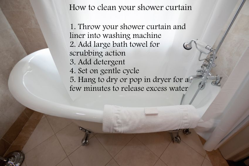 Mildew Alert Shower Curtains Are Sometimes Overlooked During