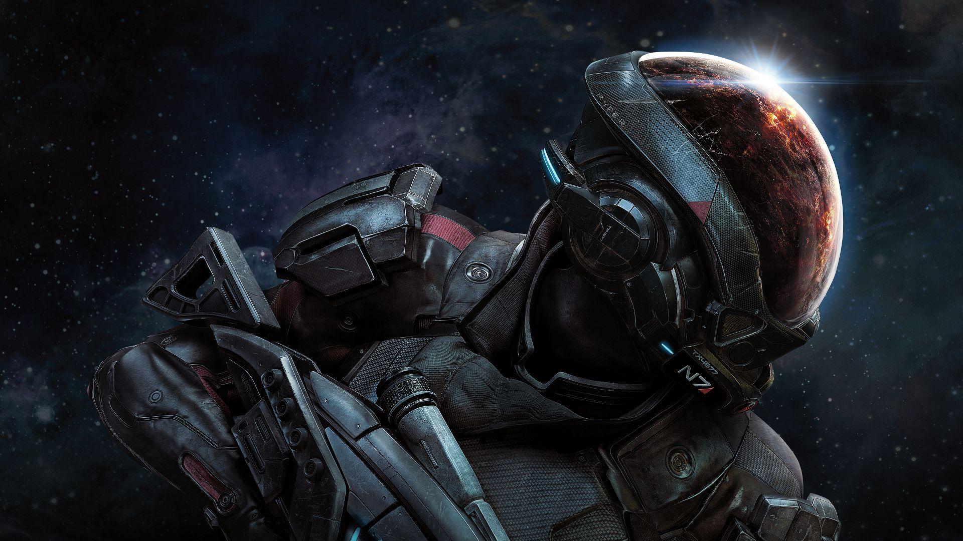 Mass Effect Andromeda AppleiPhone x Wallpapers Игровые арты