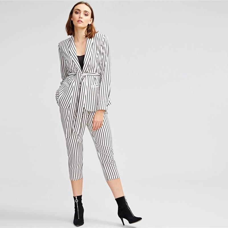 c5f7ee3acb SHEIN BlackMock Neck Plaid Top & Pant Set Women Stand Collar Long Sleeve  Elegant Two Pieces Sets 2018 Spring Plain Twopiece | Suits & Sets |  Pinterest ...