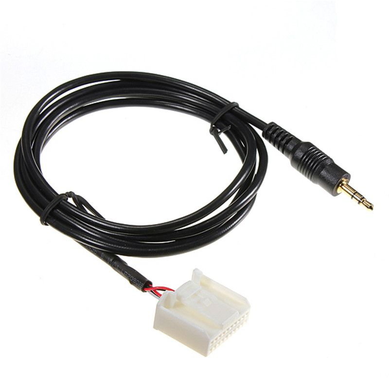 Aux Input Adapter Cable For Blaupunkt Radio Headphone Audio Jack Ipod MP3 Phone