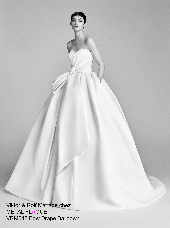 Vrm robe de mariée viktorurolf à paris robedemariée