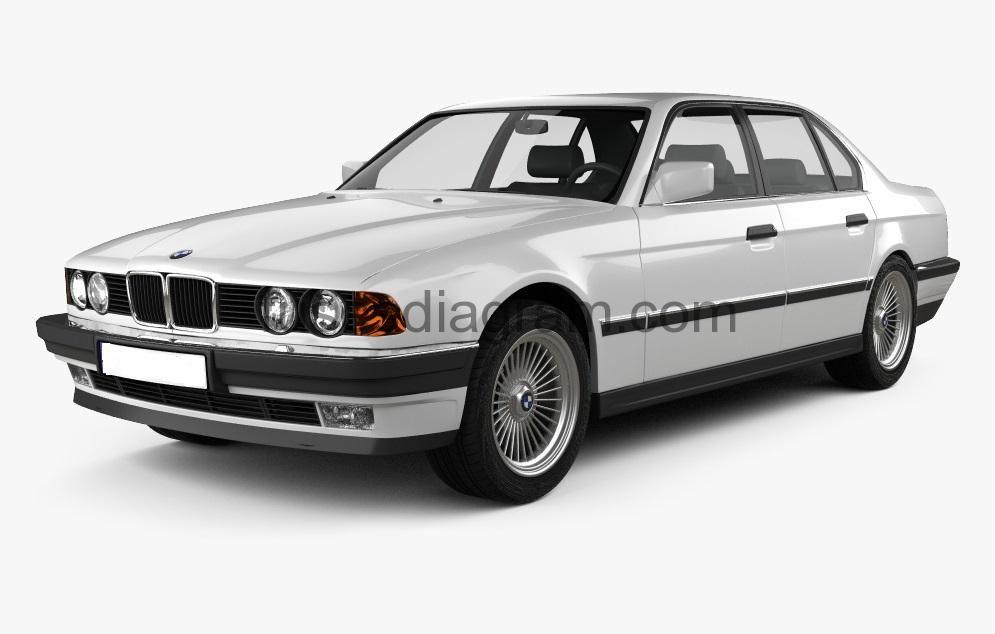 Fuse box diagram BMW 7 E32, 1986, 1987, 1988, 1989, 1990, 1991, 1992, 1993,  1994 | Fuse box, Bmw, Fuseswww.pinterest.jp