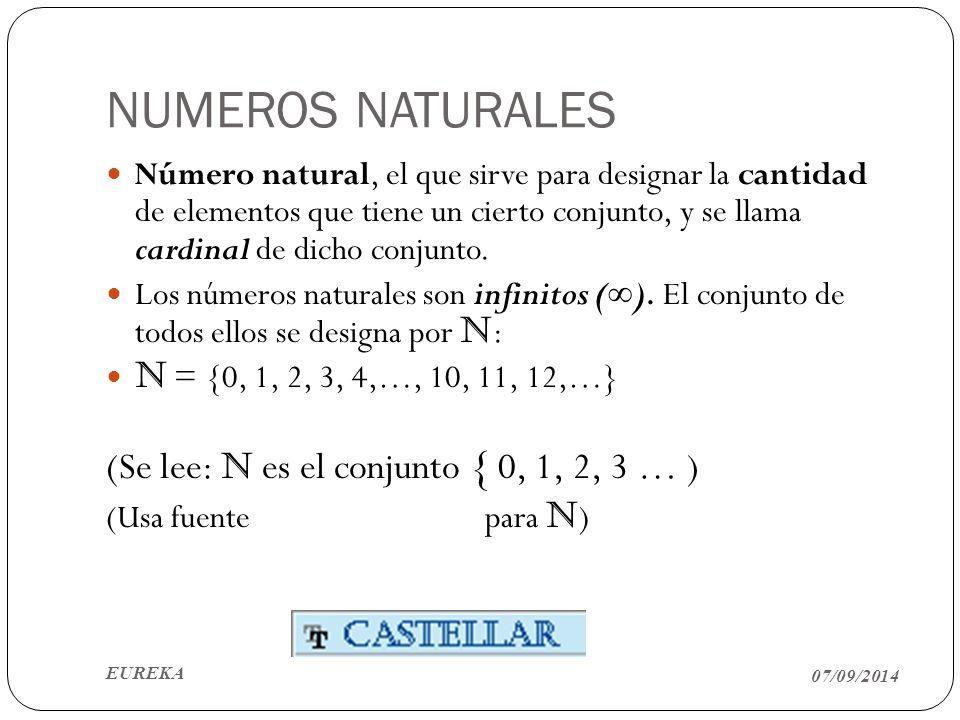 Objetivo De Aprendizaje Objetivos De Aprendizaje Numeros Naturales Aprendizaje