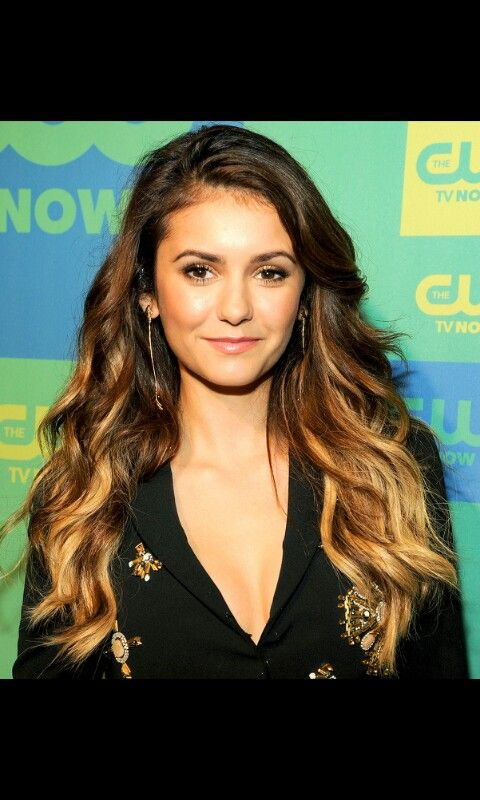 I like her hair.the vampire diaries is getting even better.