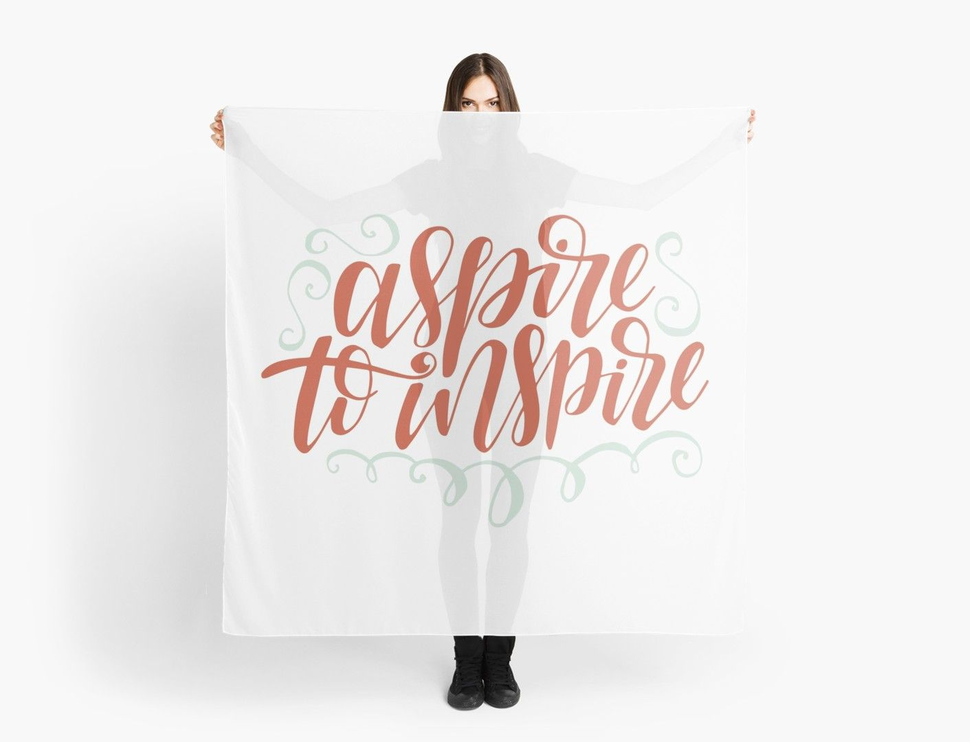 Aspire To Inspire Scarf (With images) Inspiration