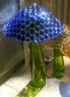The Best Diy Yard Art Ideas Glass Garden Art Glass Garden