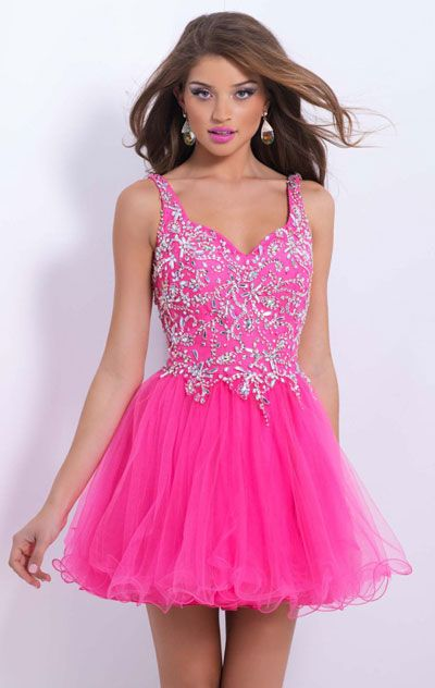 With Thick Straps Short Homecoming Dresses 2015
