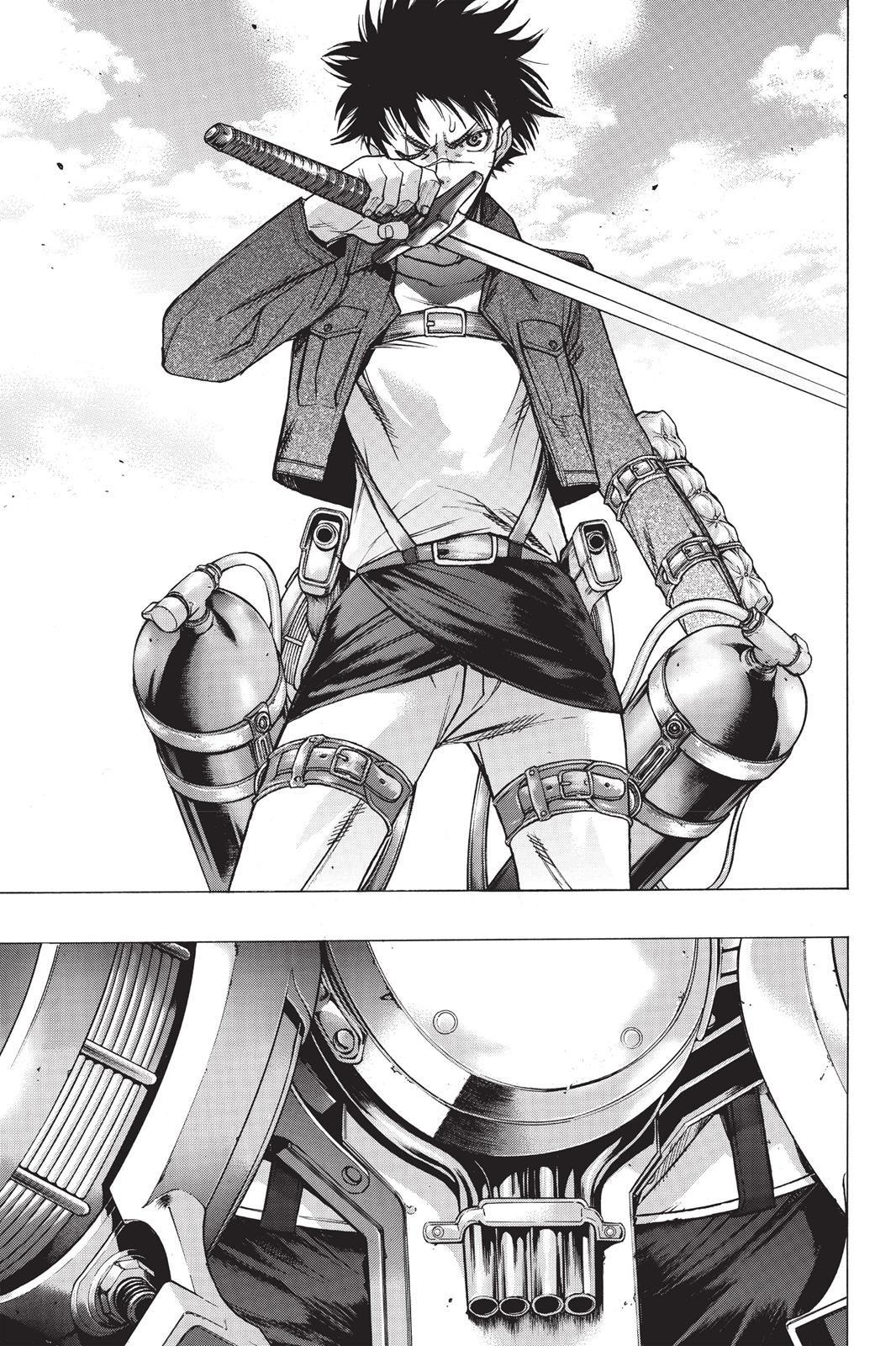 Shingeki no Kyojin Before the Fall Chapter 020 Before