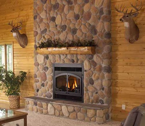Stone Fireplace Design Ideas: Modern Homes With Fireplaces, Beautiful Fireplace Mantel