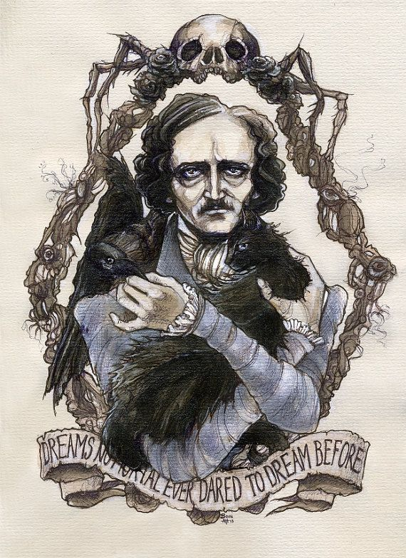edgar allan poe and gothic imagery in The cask of amontillado by edgar allan poe 836 words | 3 pages qualities in the story in the story many things are used as symbols such as the actual cask of amontillado, the trowel, the jester costume and the setting in which there is two in the story.