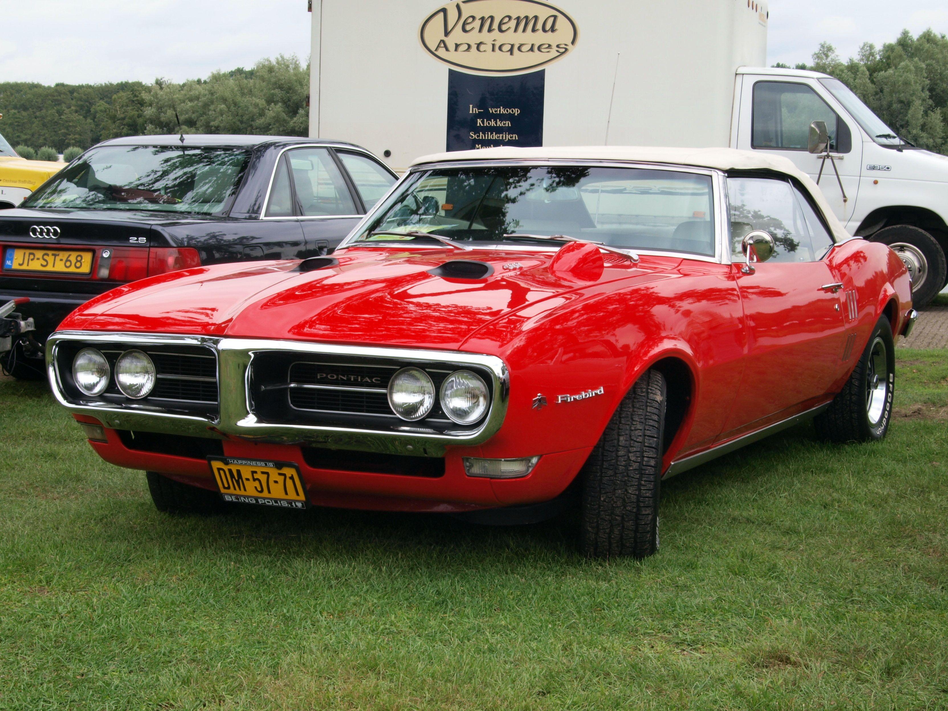 1968 Pontiac Firebird convertible 400 Ram Air with the optional