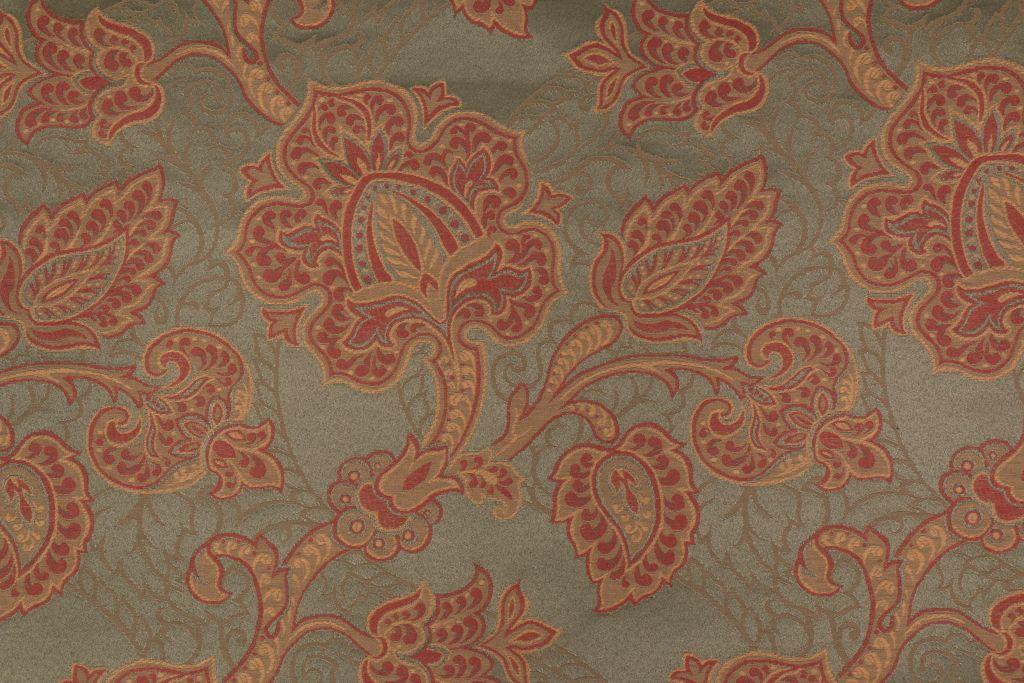 5 3 Yards Robert Allen Zeman Tapestry Upholstery Fabric In Leaf