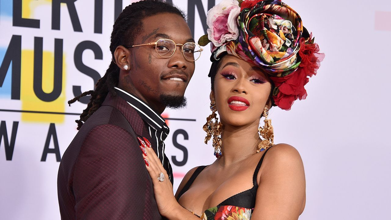 Migos Offset Husband Of Cardi B Arrested On Felony Gun: Cardi B Says She And Husband Offset Are 'not Together