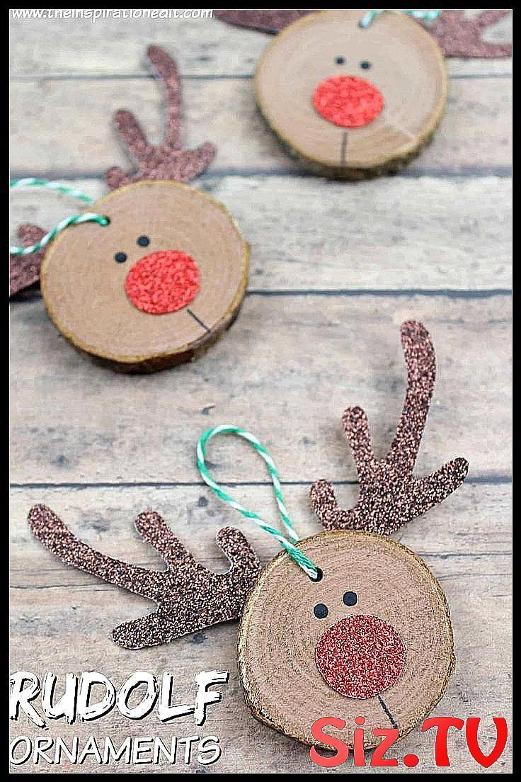 Rudolf Christmas Craft DIY Craft for Kids #Christmas #Craft #DIY #diy_crafts_for_christmas #Kids #Ru...