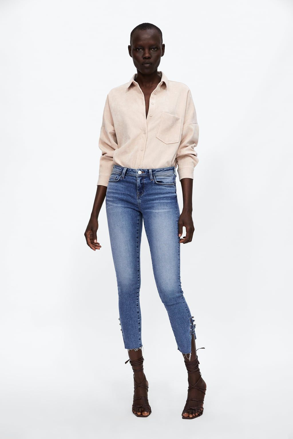 70925ea872 Image 1 of FINE CORDUROY SHIRT from Zara Shirt Blouses