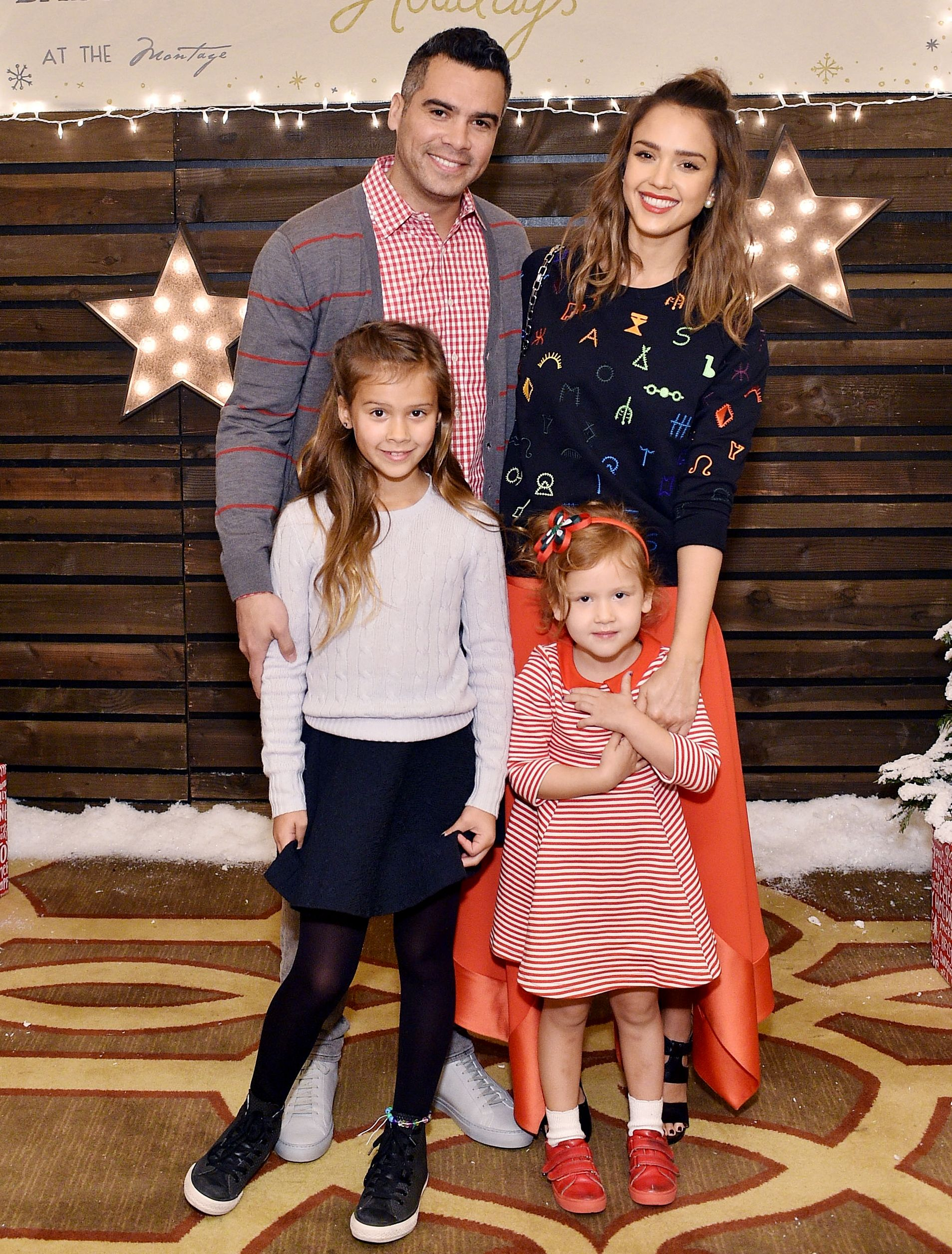 a027330aed9d8 Jessica Alba's Family Is Beyond Cute at Baby2Baby Event from InStyle.com