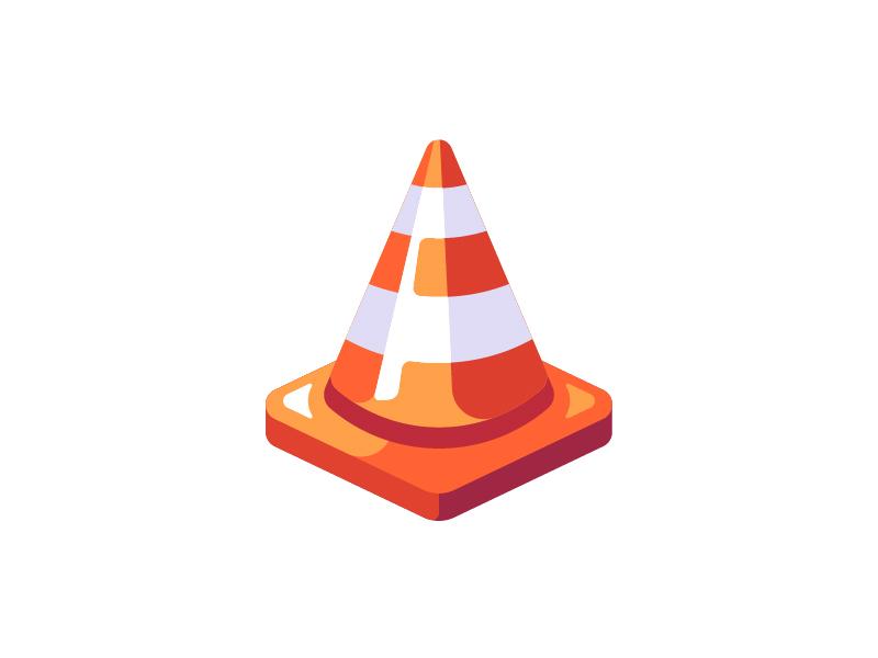 Traffic Cone Illustrator Inspiration Traffic Cone