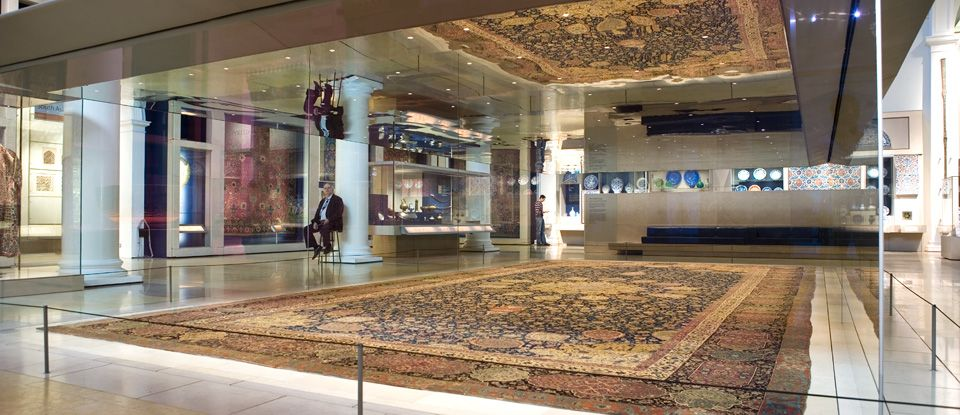 V A The Ardabil Carpet Victoria And Albert Museum Ap Art History 250 Victoria And Albert