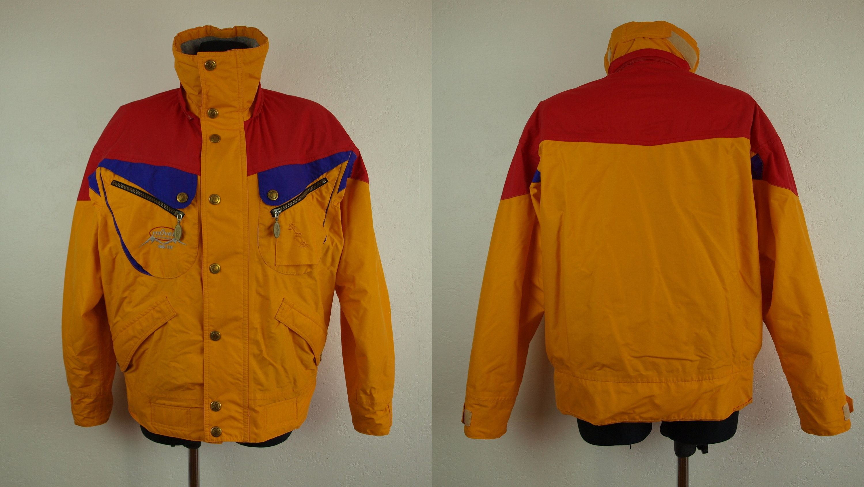 3490e03c6b Gore Tex Ski jacket mOver Vegborn Orange ski jacket Womens Size S Eur 36 Us  6 Uk 10 Made in Sweden Dacron thermo line Nylon ski jacket by  SillyPurpleZephyre ...