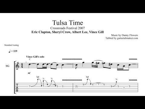 Tulsa Time solo tab - live at Crossroads Guitar Festival 2007 - pdf ...