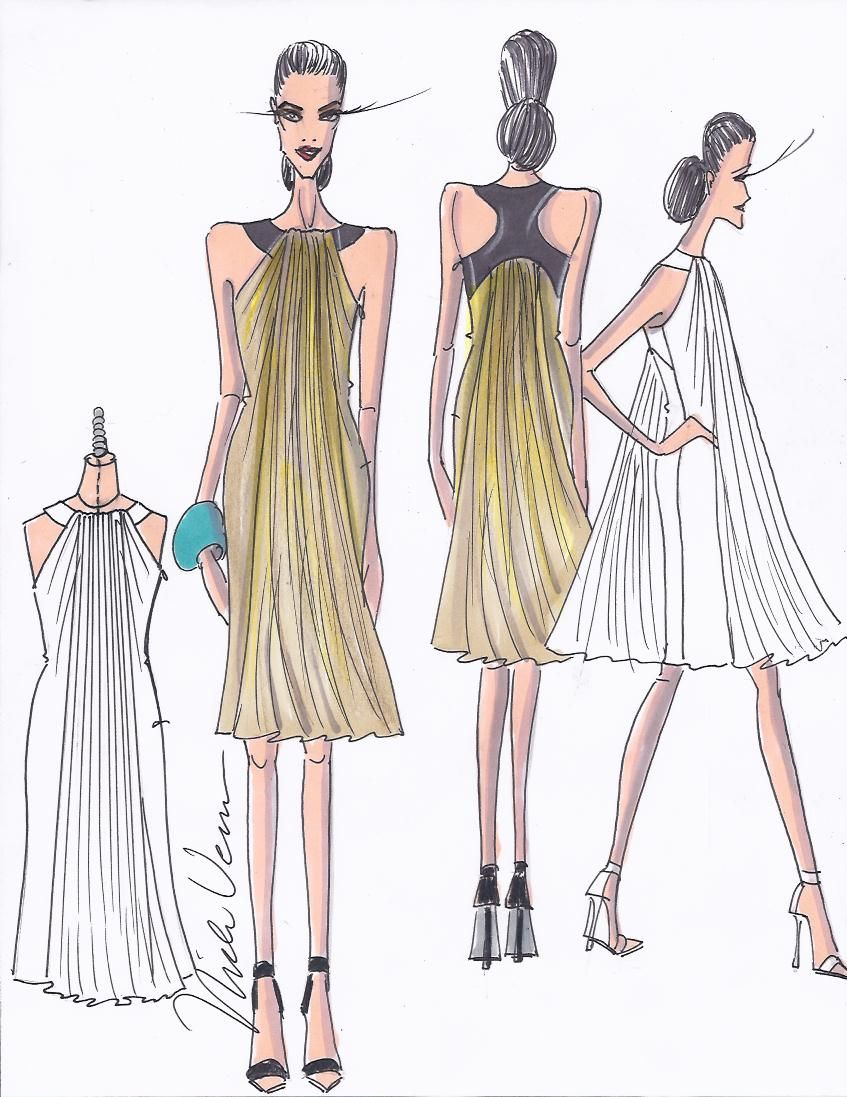 Project Runway Sketches Fashion Fashion Sketches Project Runway