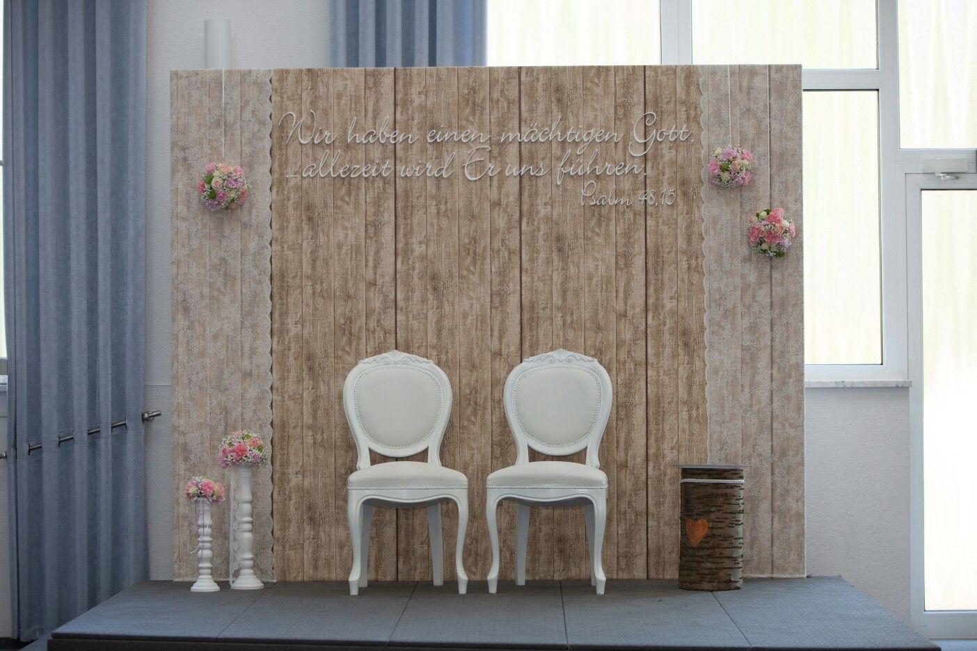hochzeit thron schön Holz Hochzeitsideen Pinterest