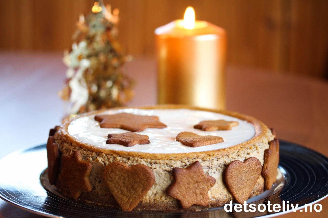 Vanilla Spice Cheesecake | Det søte liv