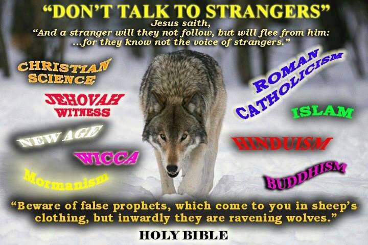 Don't talk to strangers... Jesus in Sri Lanka