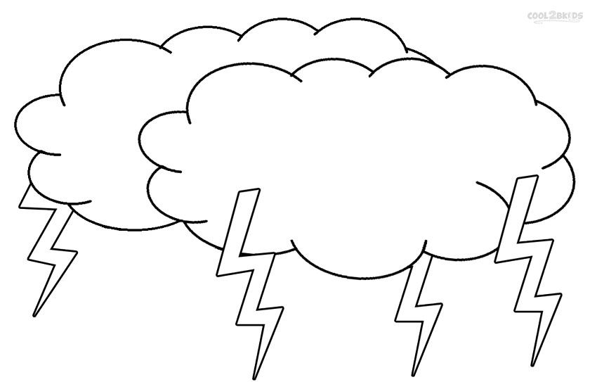 Printable Cloud Coloring Pages For Kids Cool2bKids Miscellaneous