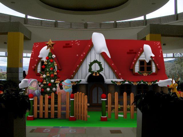 Decoracion navide a para centros comerciales buscar con - Decoracion navidena infantil ...