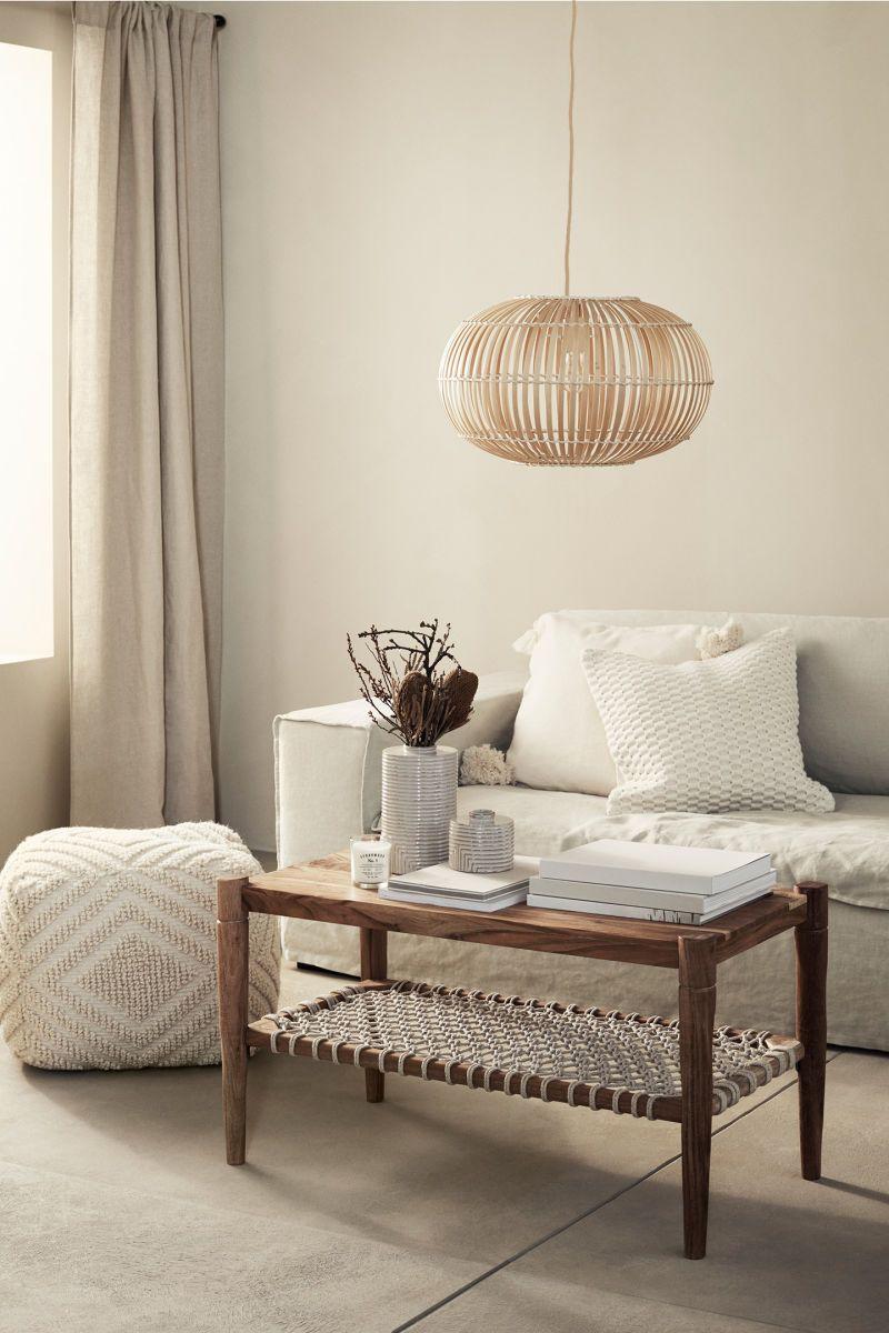 Couchtisch Aus Holz Braun Naturweiß H M Home H M De Wohnzimmer Modern Haus Deko Dekor