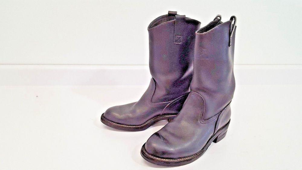 b1b01f22be3 Wesco Western Boss Men's Black Leather 11 D 13