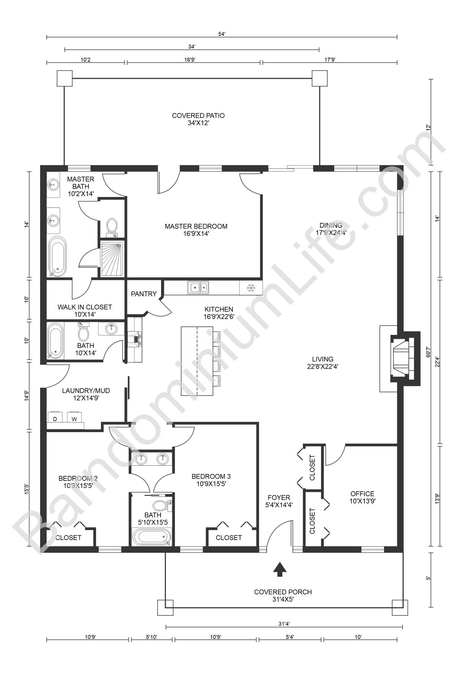 Top 20 Barndominium Floor Plans In 2020 Barndominium Floor Plans Barndominium Barn Homes Floor Plans