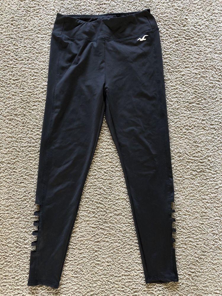 8d12c65e930fdb Hollister leggins Womens sport Size M Color black 3026 #fashion #clothing  #shoes #accessories #womensclothing #leggings (ebay link)