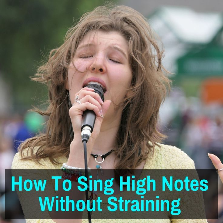 How to sing high notes without straining tips and