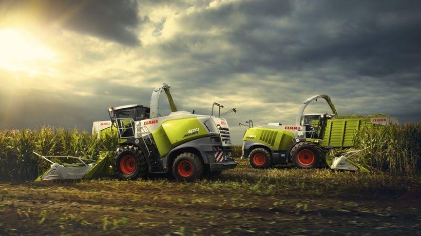 Jaguar 870 840 Feldhacksler Big Tractors Old Tractors Farm Pictures