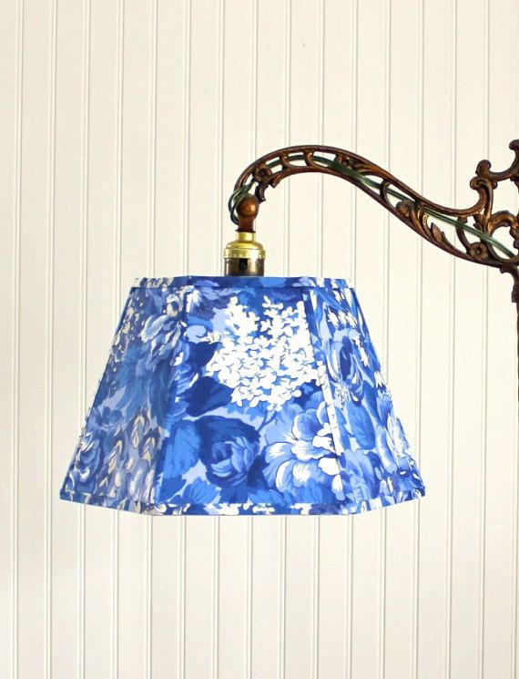 Uno Lampshade Blue And White French Floral Lamp Shade Antique Lamp Shades Rustic Lamp Shades Diy Lamp Shade