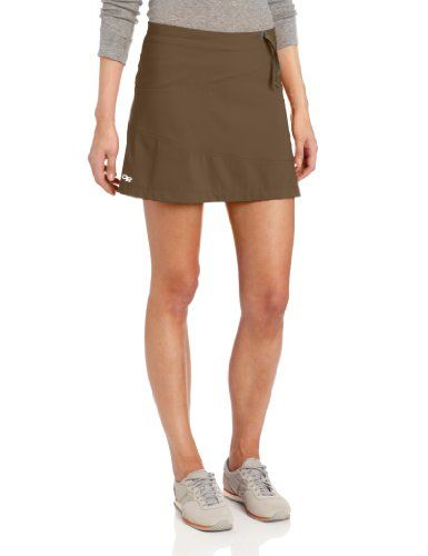 Outdoor Research Women's Expressa Skort, Mushroom, 4 - With four-way mechanical stretch, there is no movement this skort won't accommodate. Breathable, super-light fabric provides comfort and allows body heat and perspiration to escape. Whether a hot climb takes you high into the desert sky or a mind-clearing trail run winds you through a... - http://ehowsuperstore.com/bestbrandsales/sports-outdoors/outdoor-research-womens-expressa-skort-mushroom-4